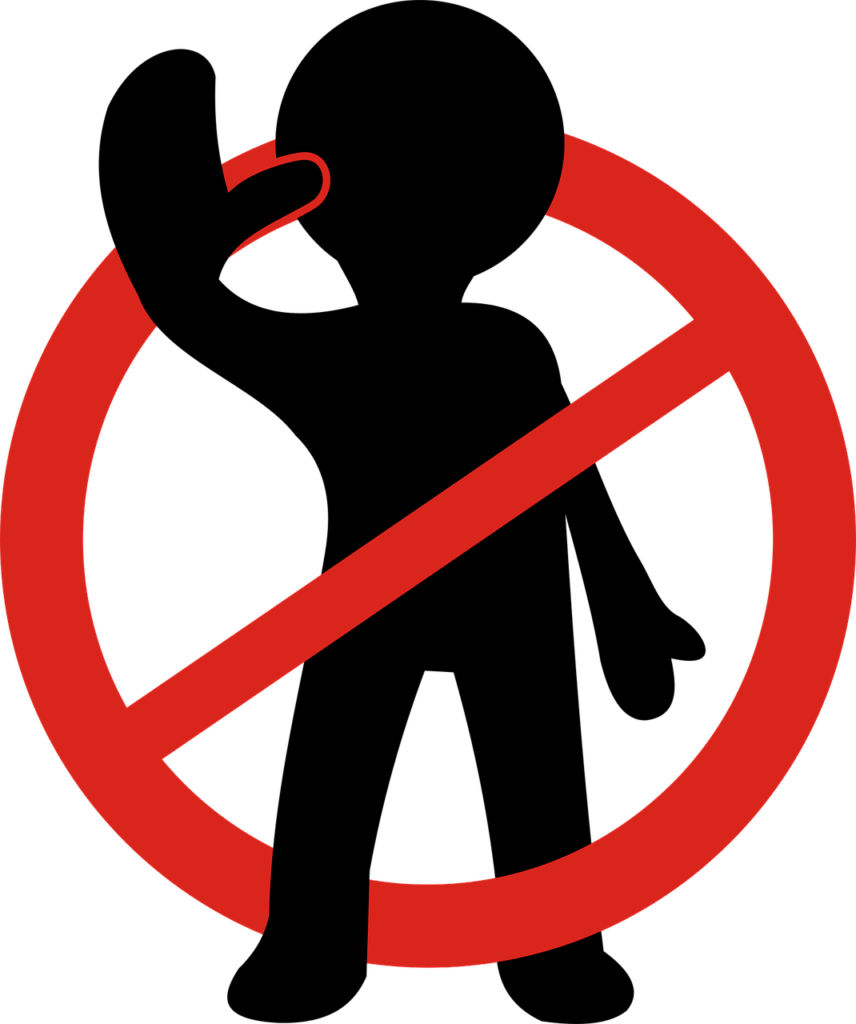 Stop-Verbot