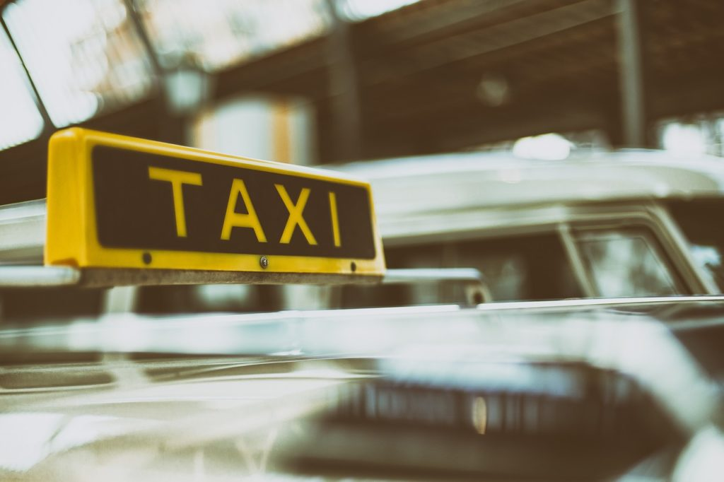 Prsonenbeförderung mit Taxi