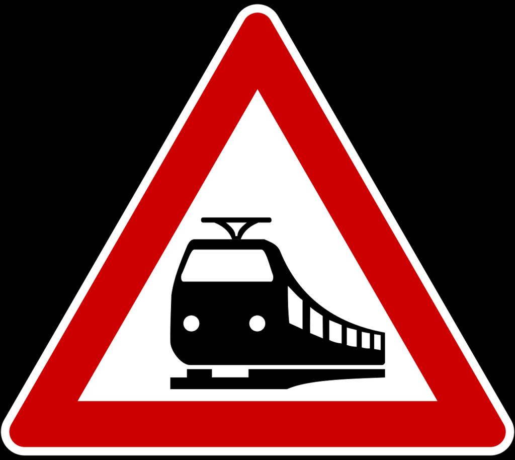 Bahnübergangszeichen