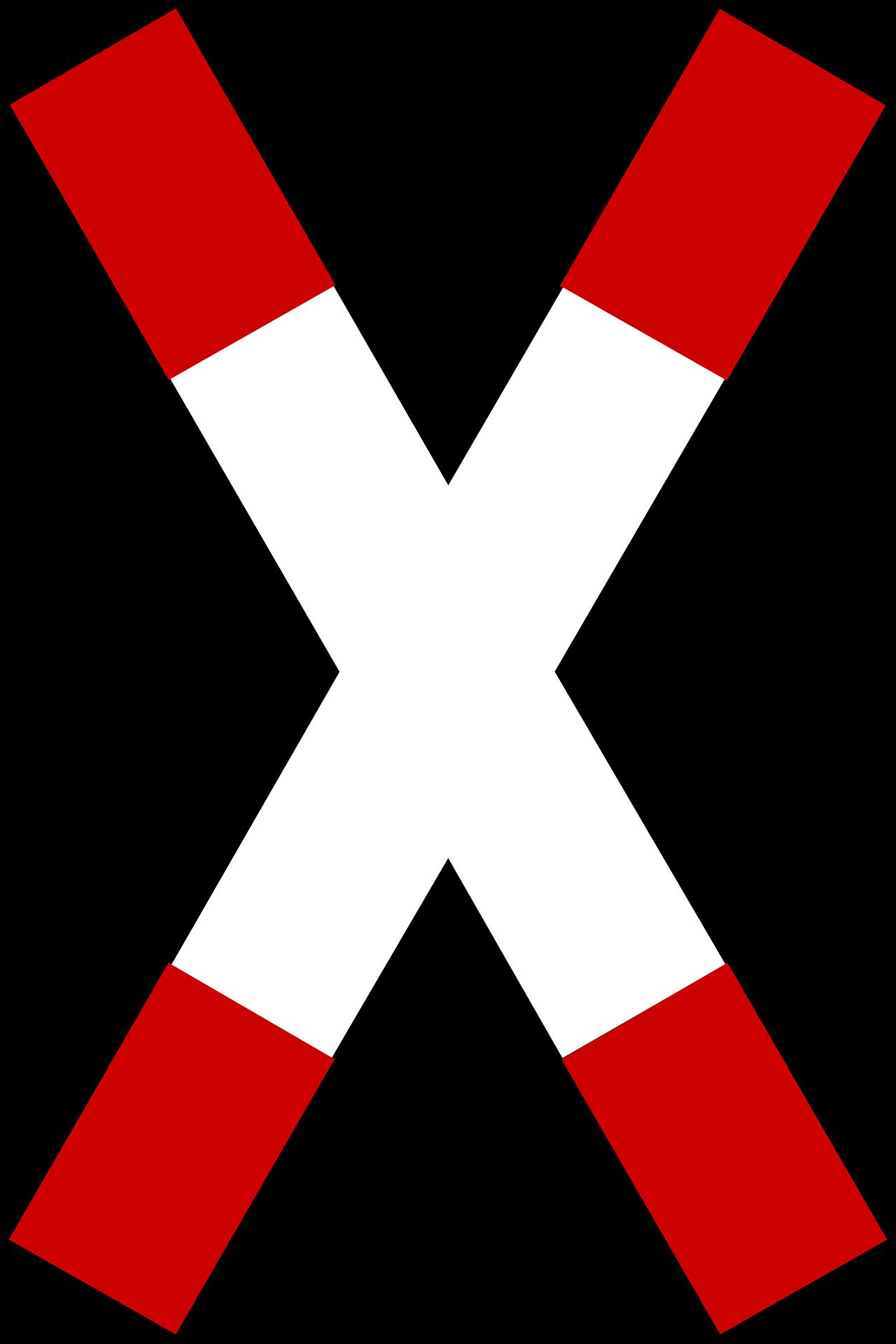 Was Bedeutet Dieses Verkehrszeichen Andreaskreuz Mit Blitz