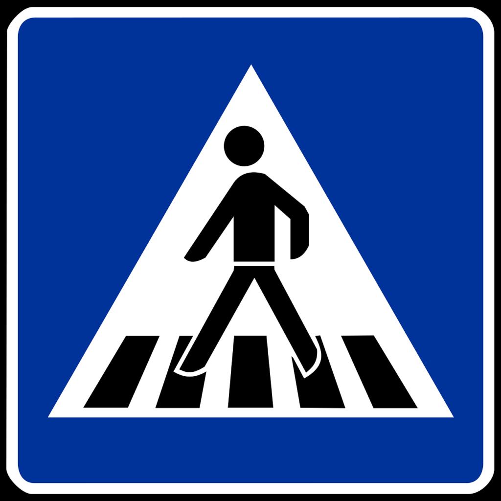 Verkehrszeichen Zebrastreifen