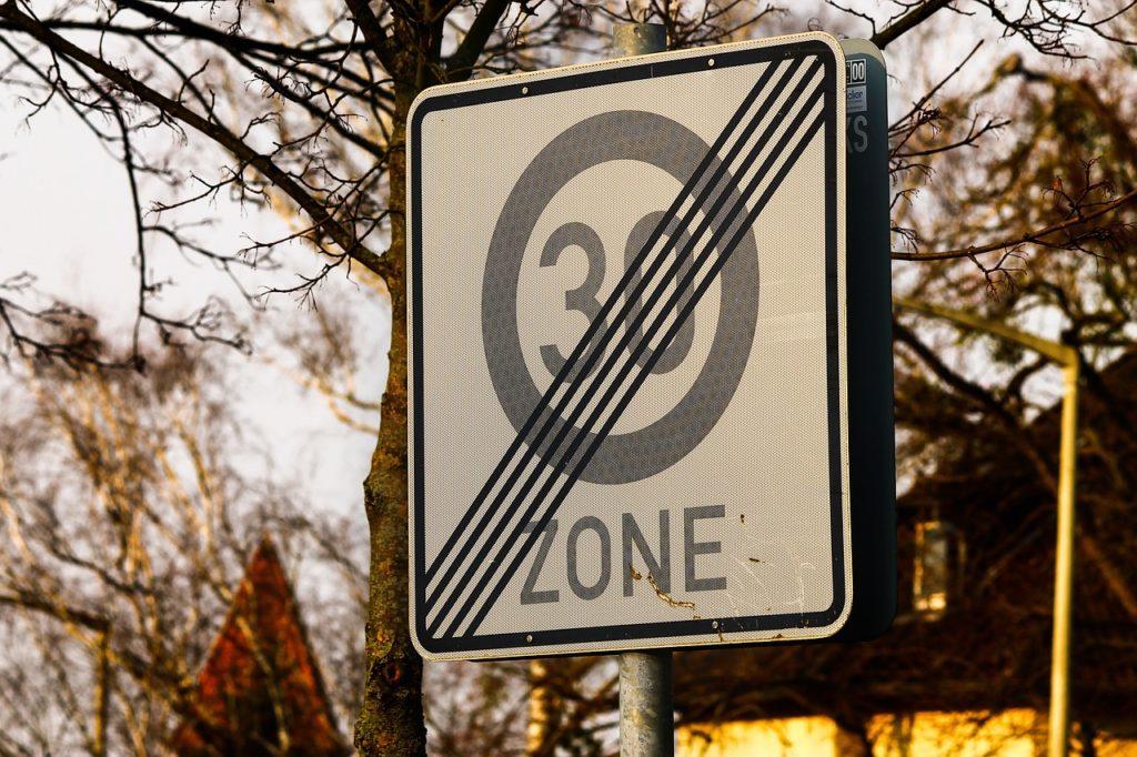 30er Zone endet: geblitzt worden?