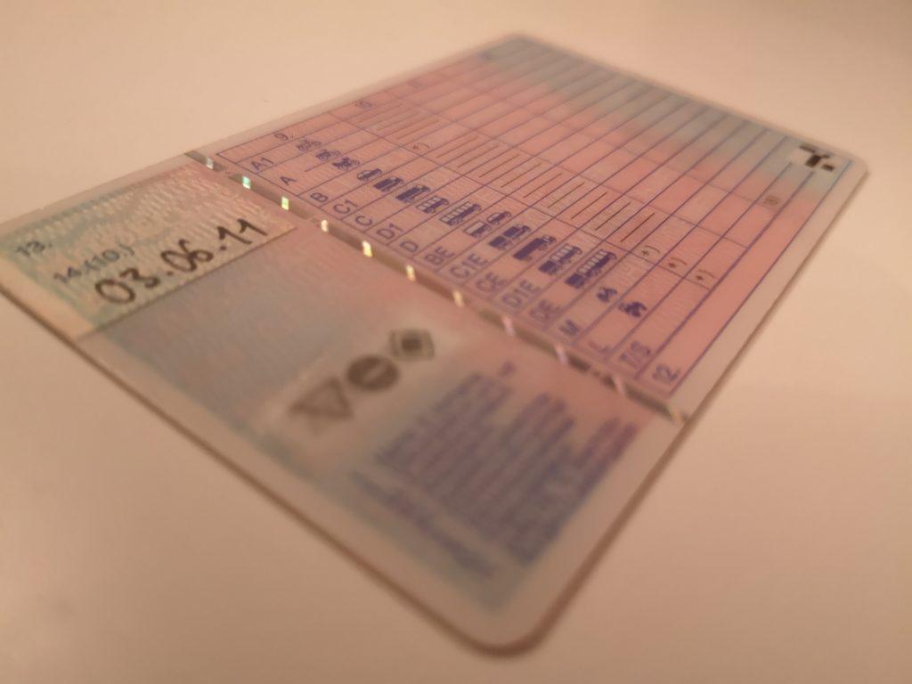 Der deutsche Führerschein wird für verschiedene Führerscheinklassen ausgestellt.