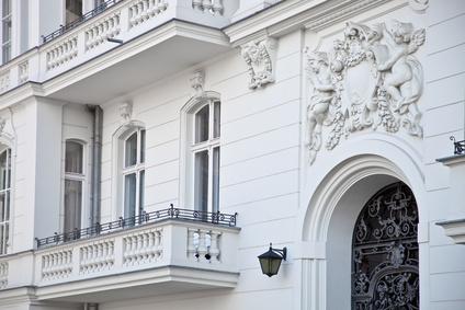 nobles Haus  in Berlin - Eingang einer Wohnung