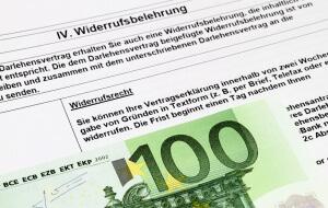 Fehlerhafte Widerrufsbelehrung Kreditvertrag